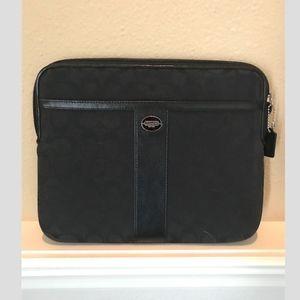 Coach Accessories - Coach signature stripe iPad  tablet case